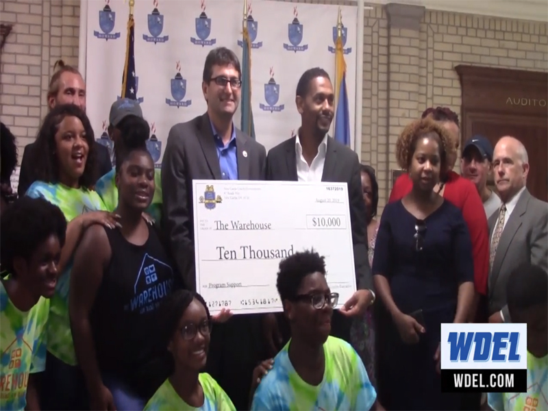 The Warehouse gets New Castle County grant to help with programs for teens