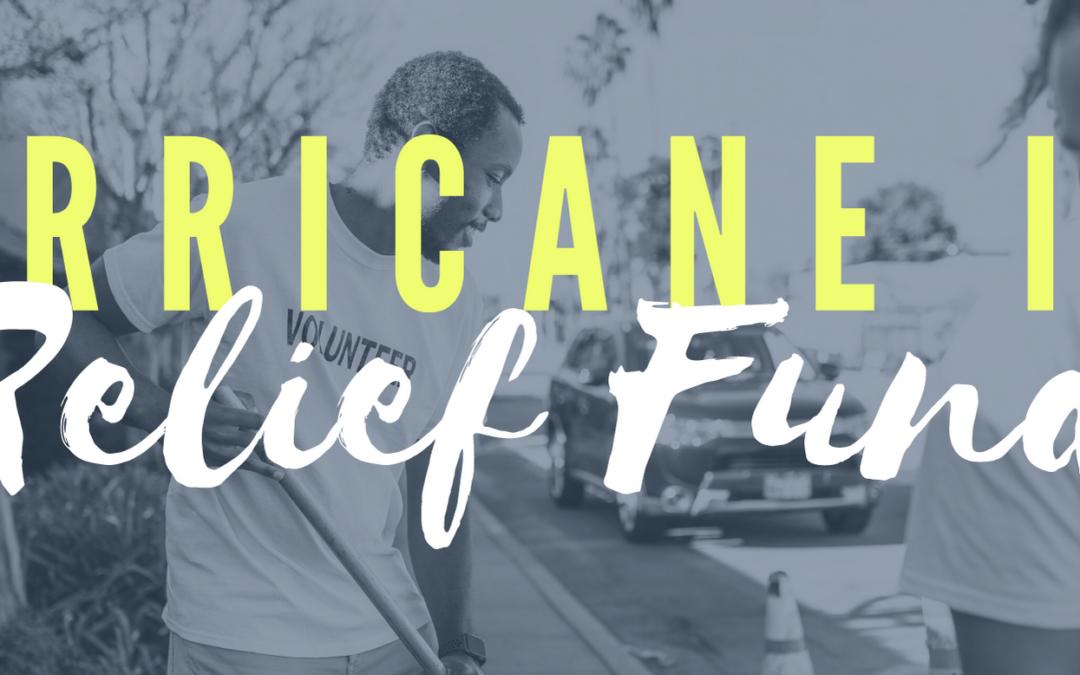 Hurricane Ida Relief Fund – Community Announcement
